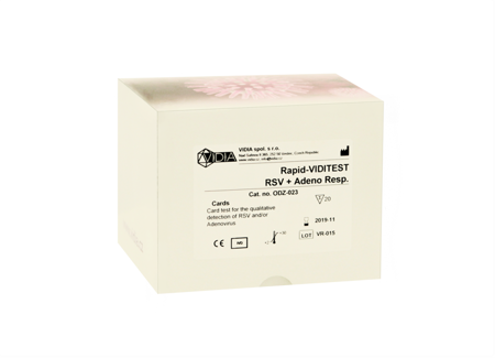 Rapid-VIDITEST RSV + ADENO Resp. Card